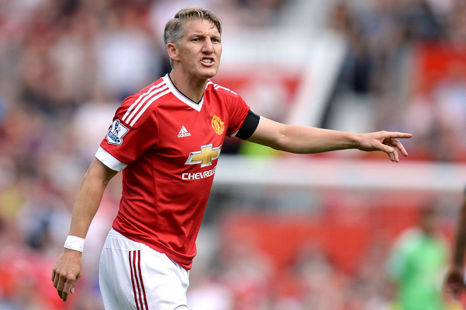 Schweinsteiger is no longer as good as Carrick but has taken the Englishman's place in the side