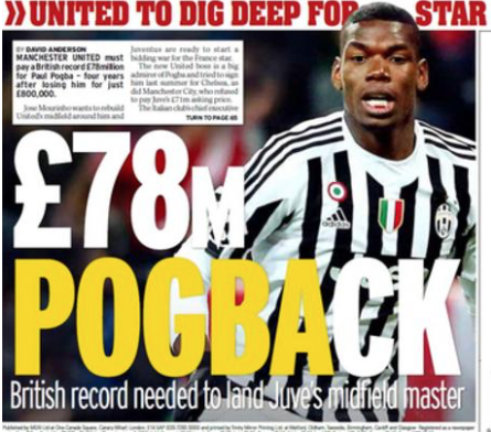 Courtesy of The Daily Mirror